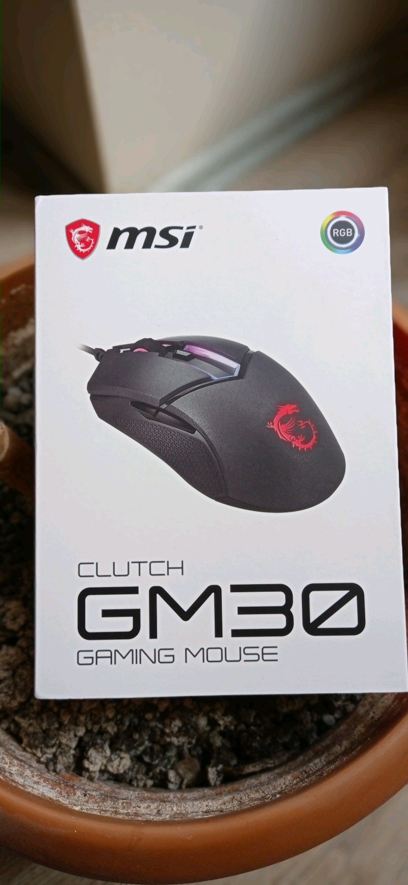 MSI CLUTCH GM 30 GAMİNG MOUSE