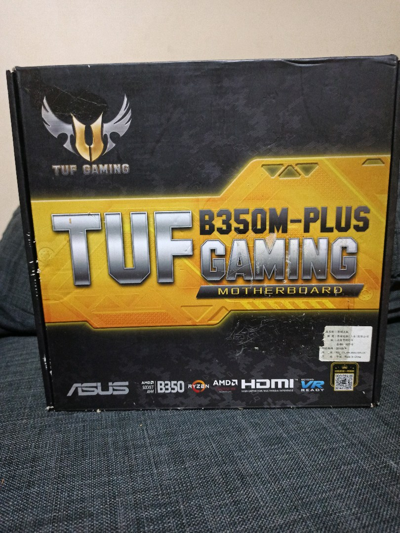ASUS TUF B-350M PLUS GAMING ANAKART