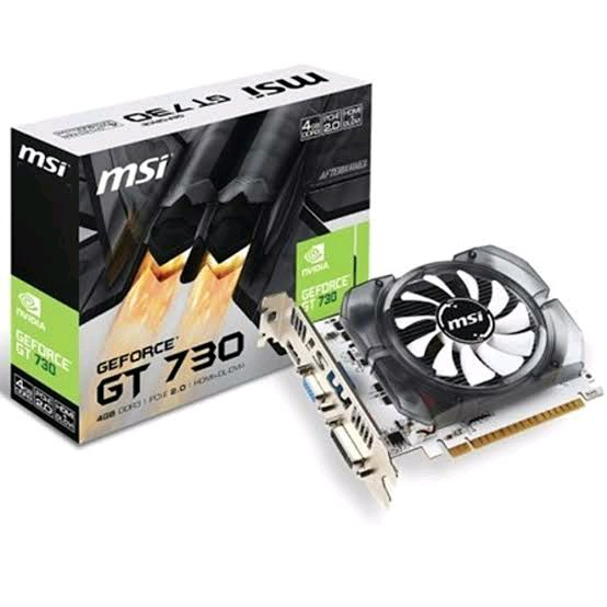 NVDIA GeForce GT 730 4GB
