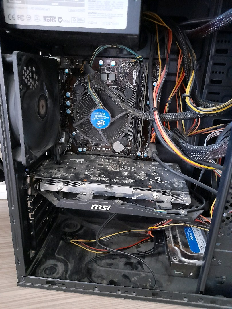 İ3 6098P VE ASUS H110M PRO-VD ANAKART