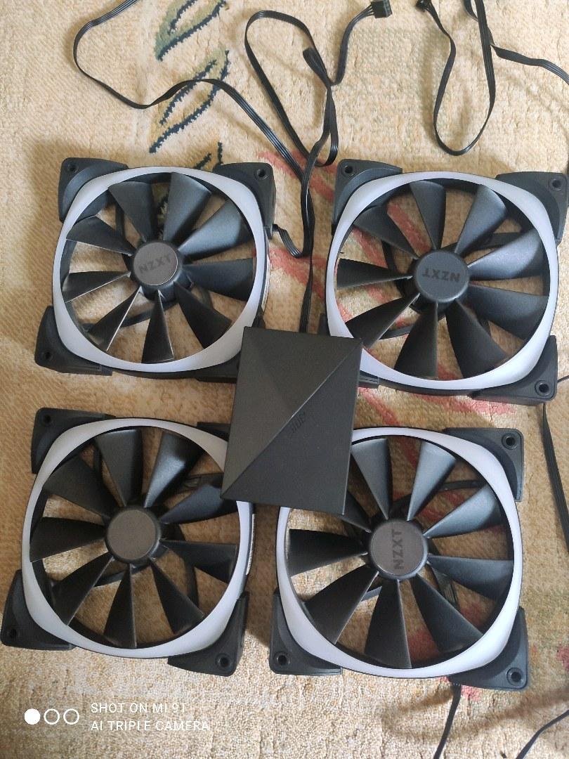 NZXT AER 140 RGB Fan Seti