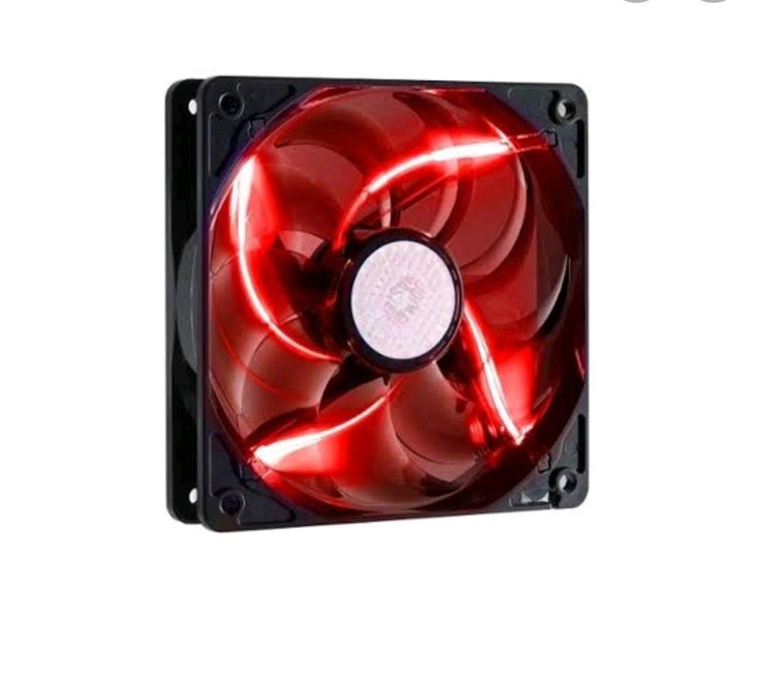 2 tane kırmızı ledli bilgisayar kasa fanı + 1 Fan kontrolcü + 2 Uzatma