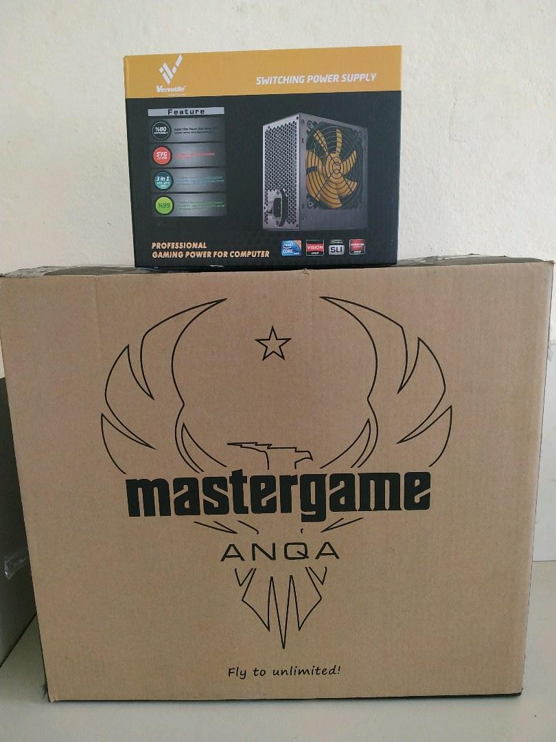 MASTERGAME ANQA & 600 W 80 +
