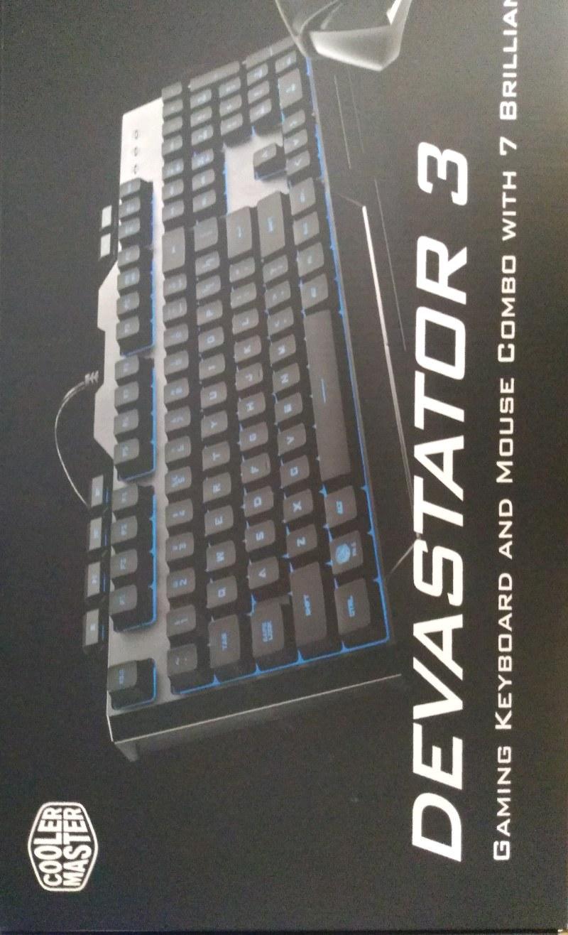 cooler master devastator 3 klavye+mouse türkçe rgb klavye