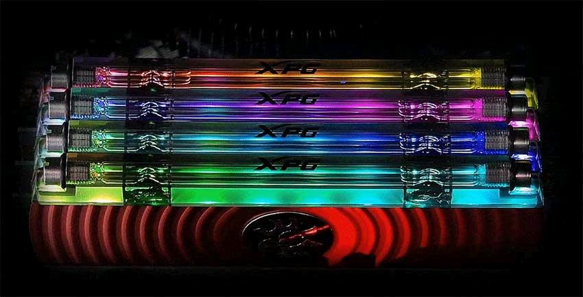 adata xpg spectrix d80 8gn 3000 mhz rgb ram