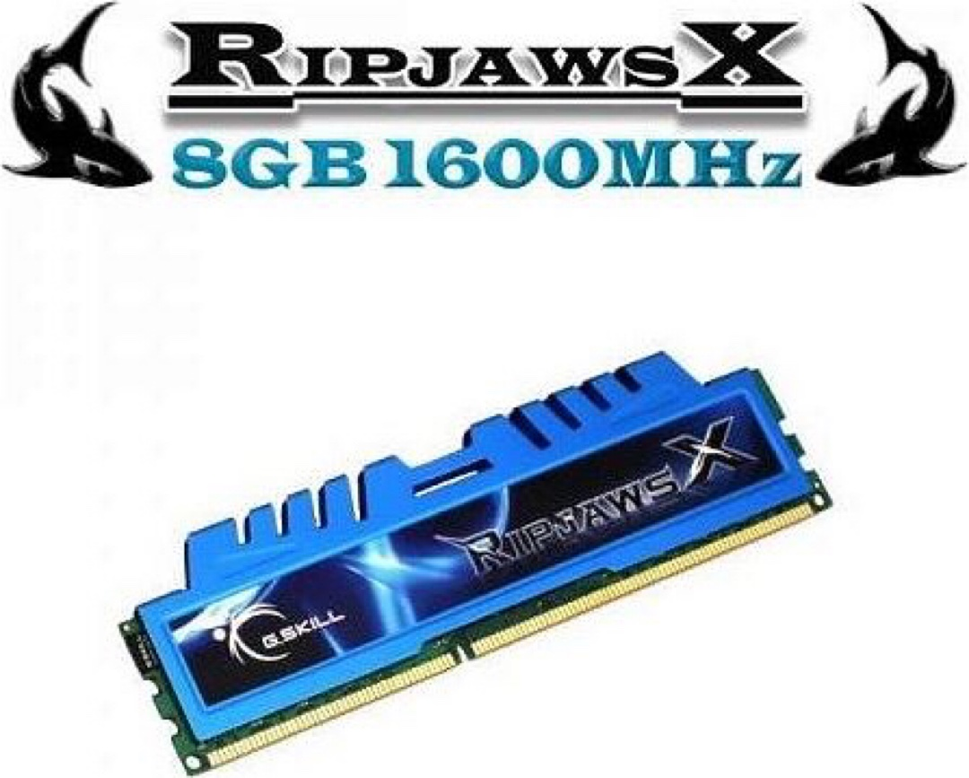 RİPJAWS 8GB 1600mhz DDR3 RAM