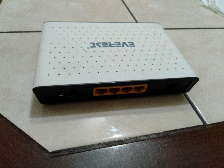 everes modem çok az kullandım SG-1400.  ADSL2+ ROUTER