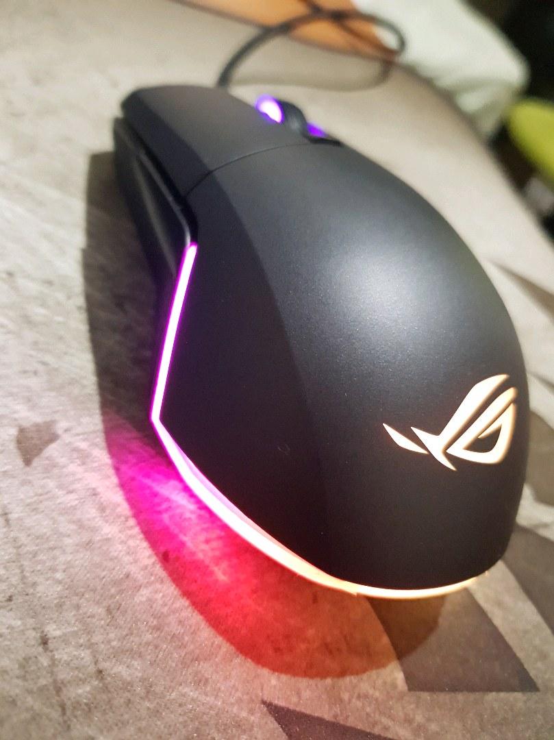 Asus rog pugio oyuncu mouse