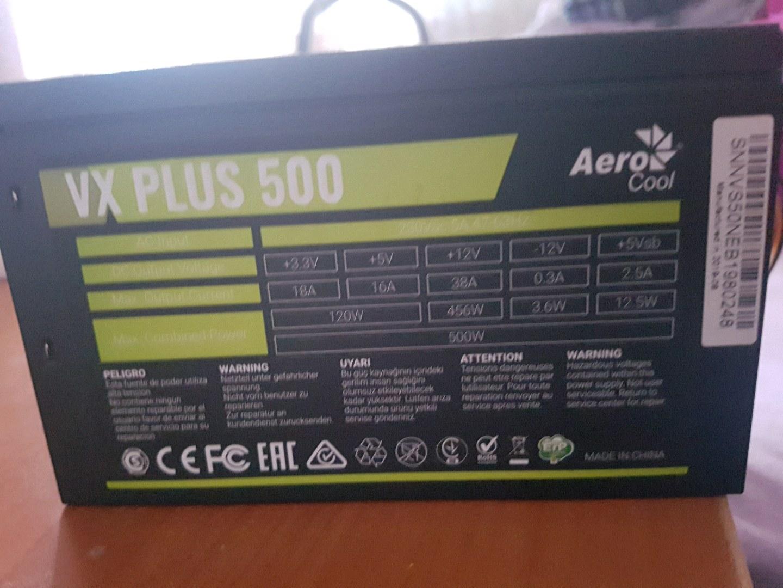 power sub vxplus 500 aero cool
