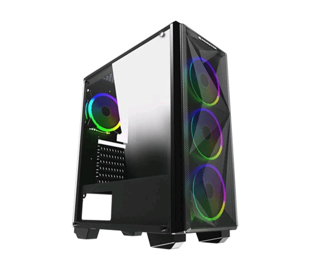 XİGMATEK RGB Lİ 4 FANLI 650 W 80 PLUS KASA