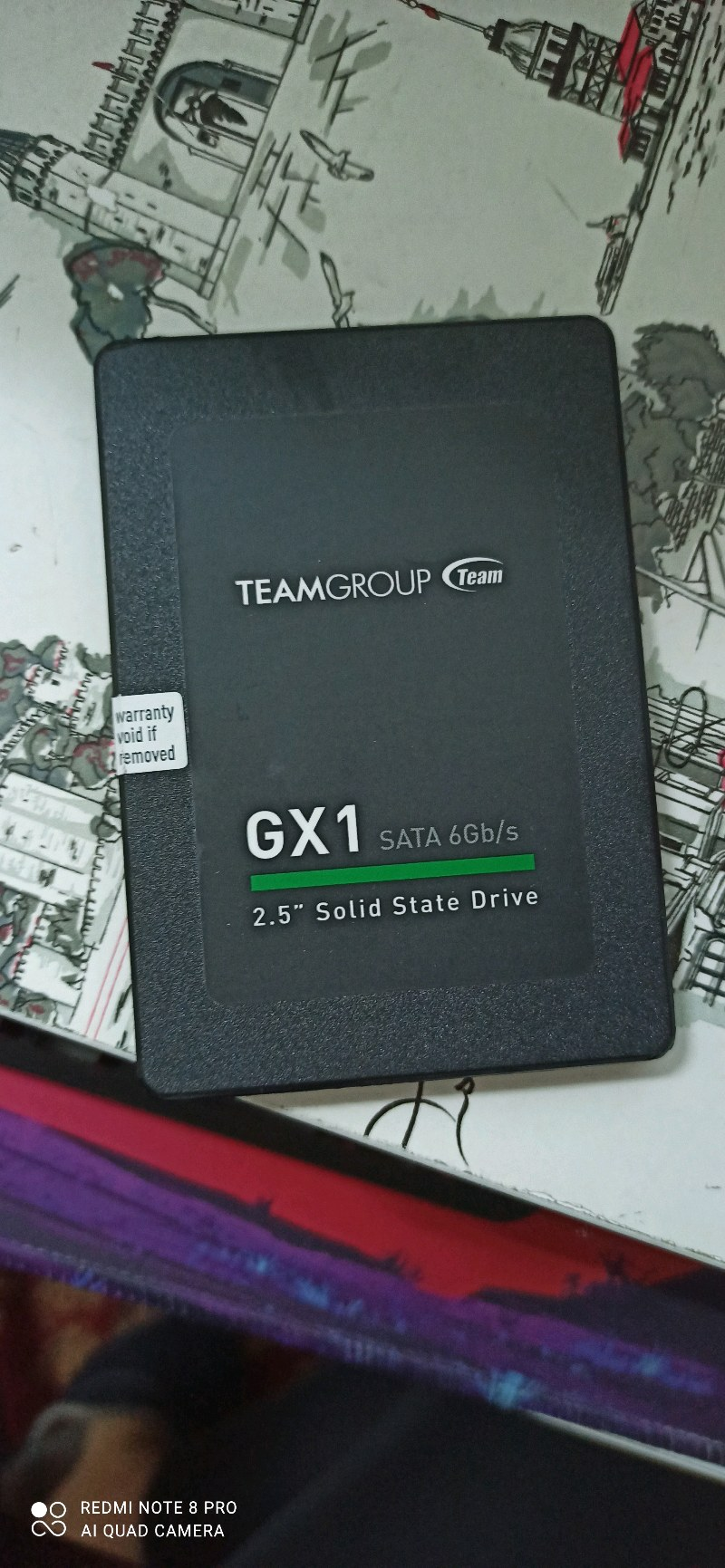 480 GB SIFIR SSD