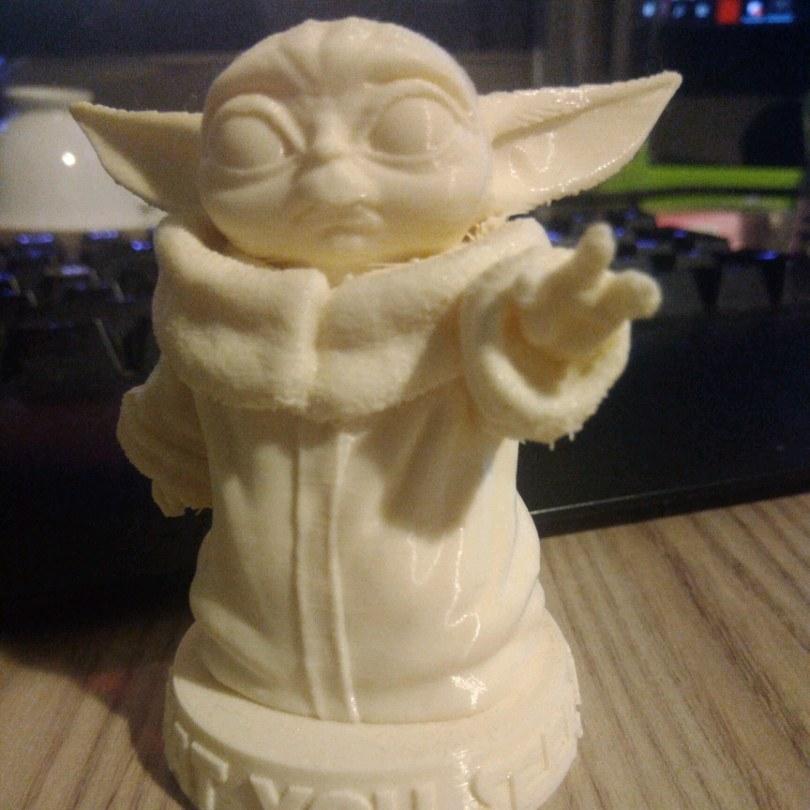 star wars bebek Yoda figürü