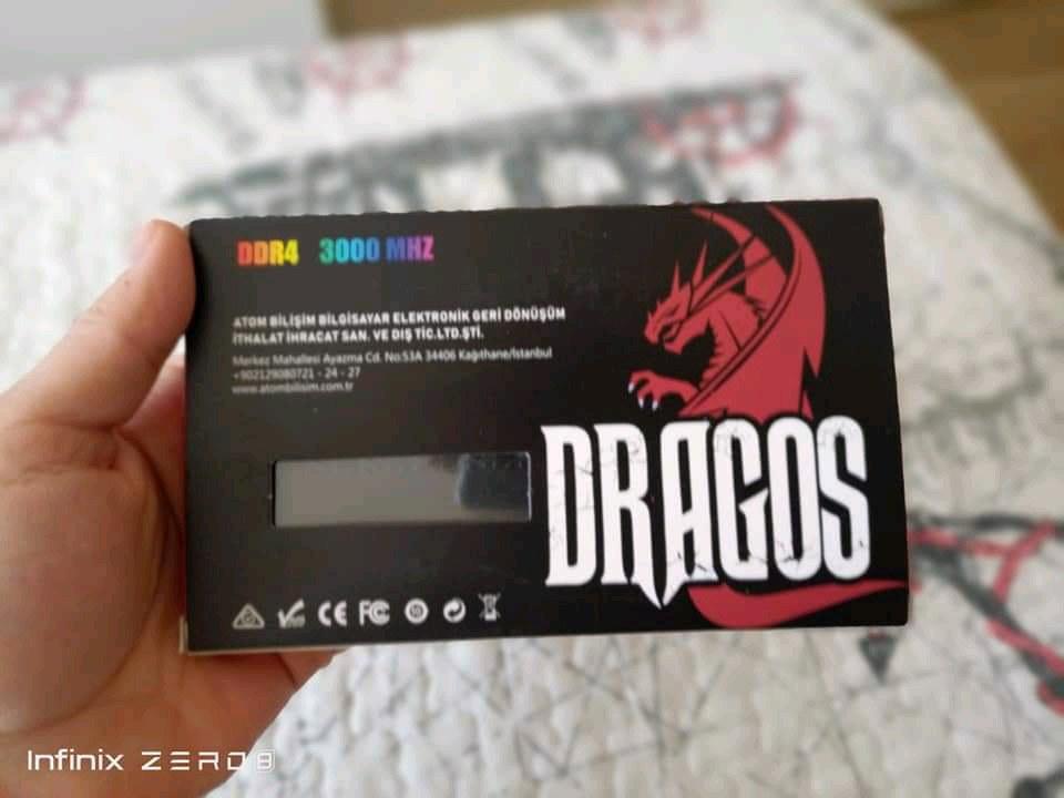 Dragos 16 GB RAM 3000 MHZ
