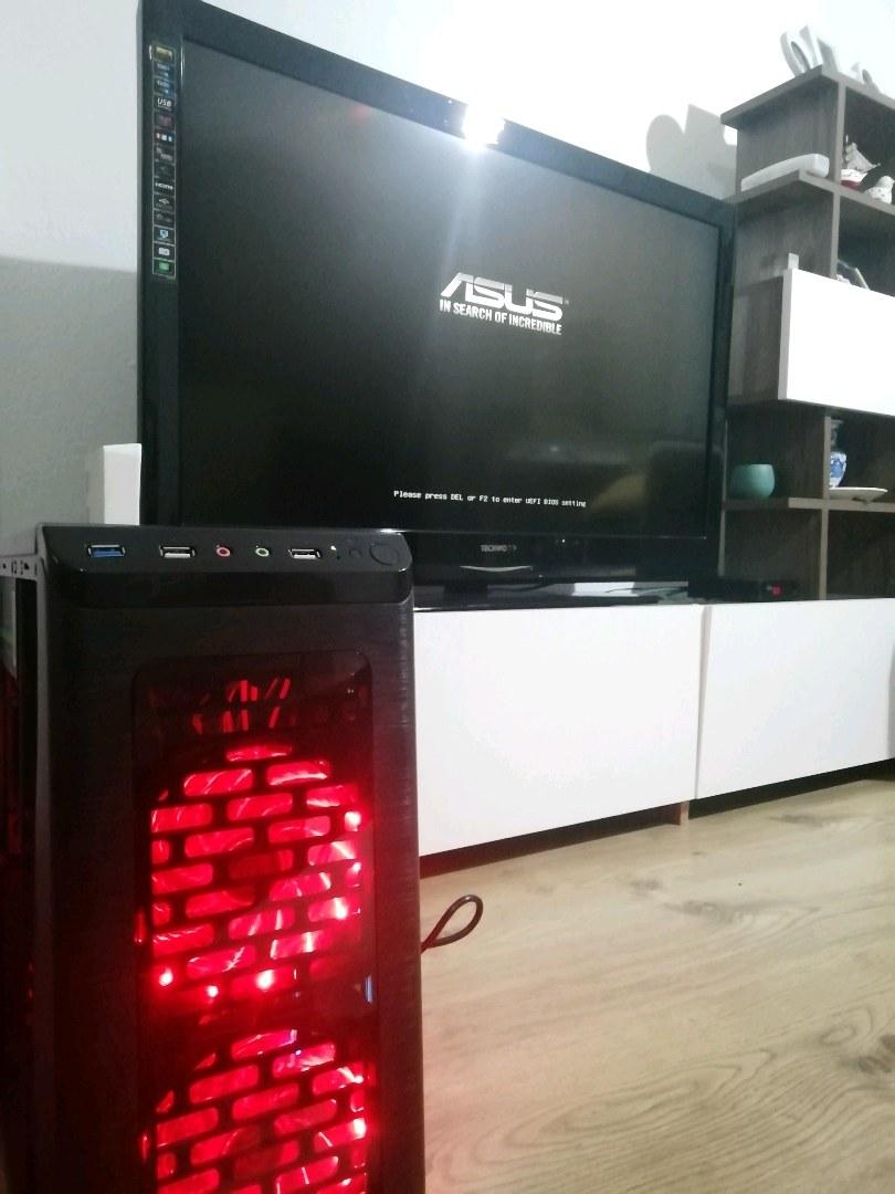 Ryzen 3 2200g apu sistem oyun bilgisayarı (PAZARLIKSIZ)