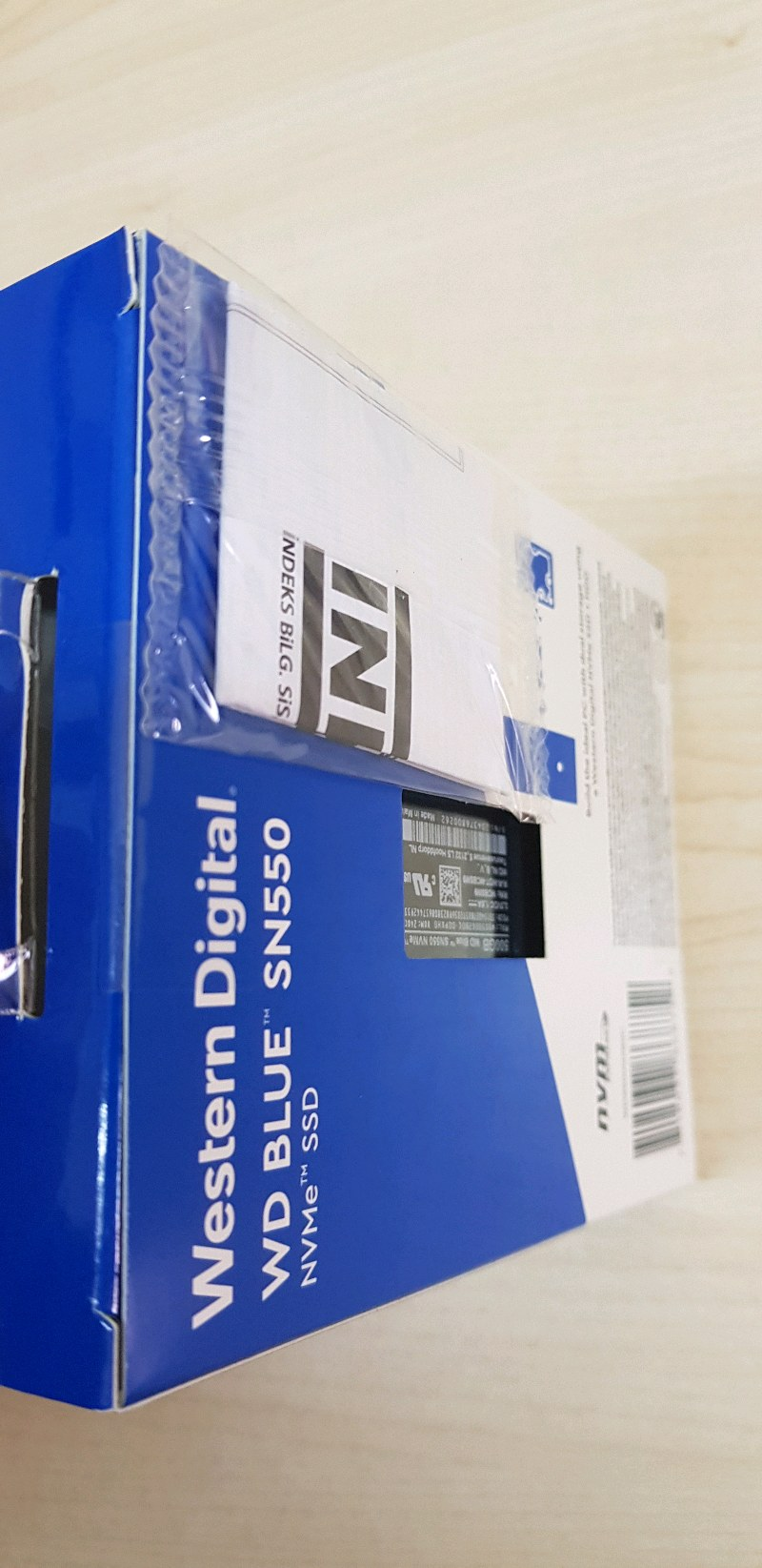 WD SN550 500 GB SSD
