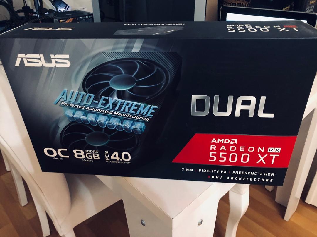 ASUS DUAL RX5500XT 8GB