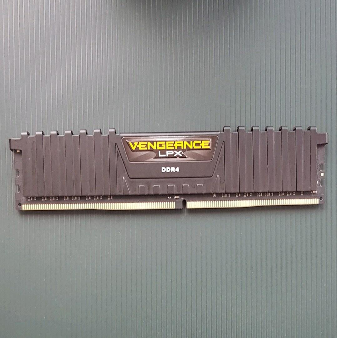 CORSAIR 2400MHZ 8GB CL14 RAM BELLEK