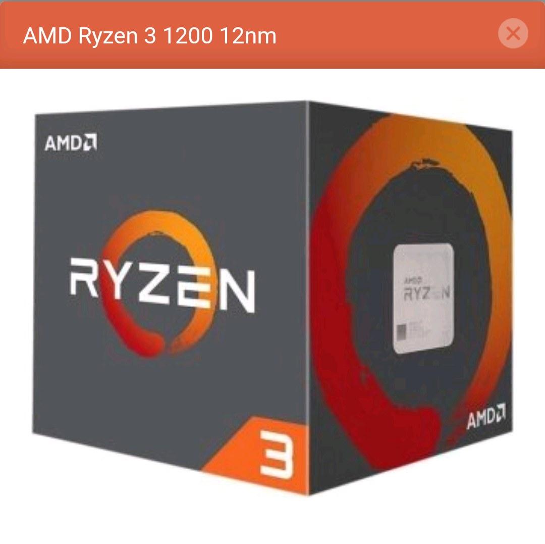 AMD RYZEN 3 1200AF 12 NM 3.1 GHZ/3.4 GHZ 4C 4T DDR4 İŞLEMCİ