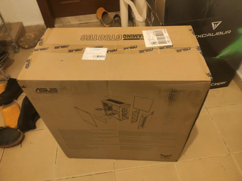 Asus tuf gt501vc sıfır kapalı kutu