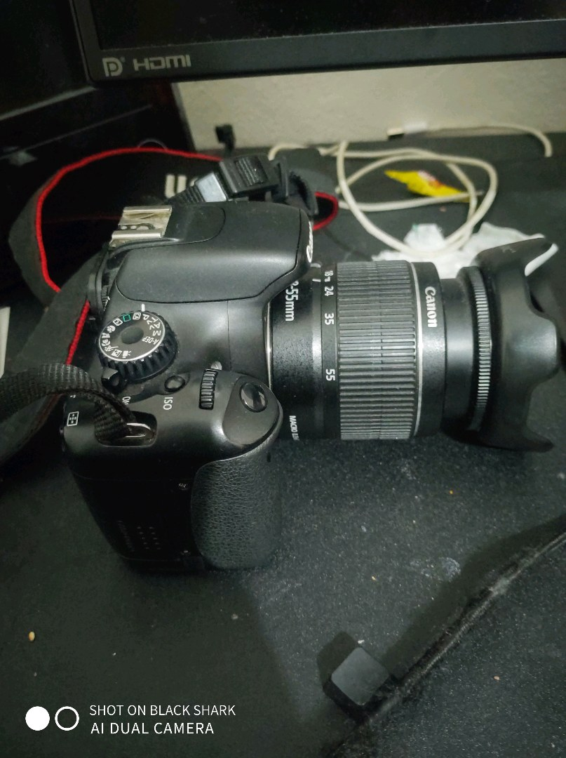 canon 550d DSLR fotoğraf Makinesi