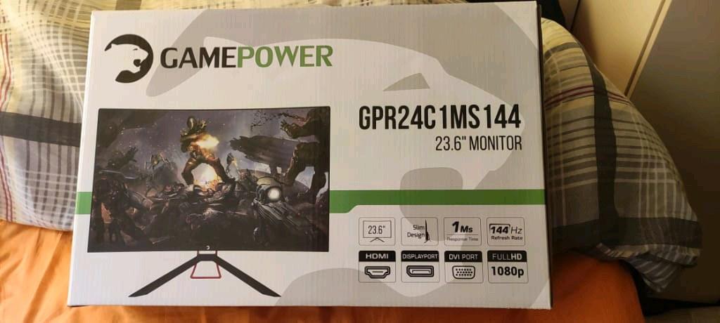 gamepower 24inc gpr24c1ms144