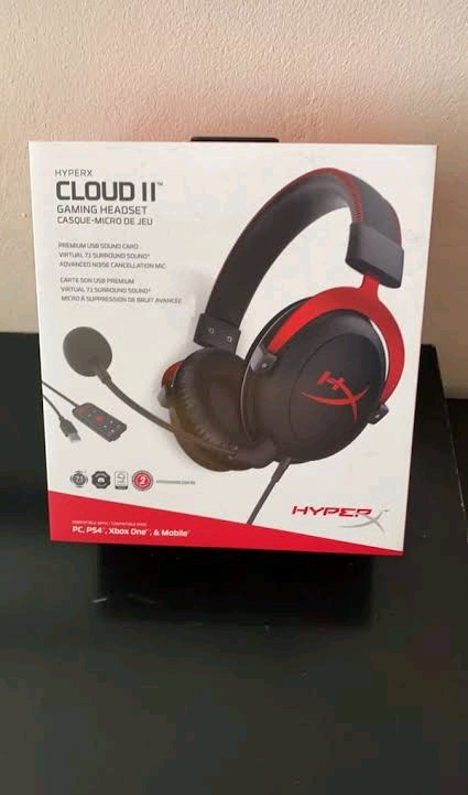 hyperx cloud 2 profesyonel oyuncu kulaklığı