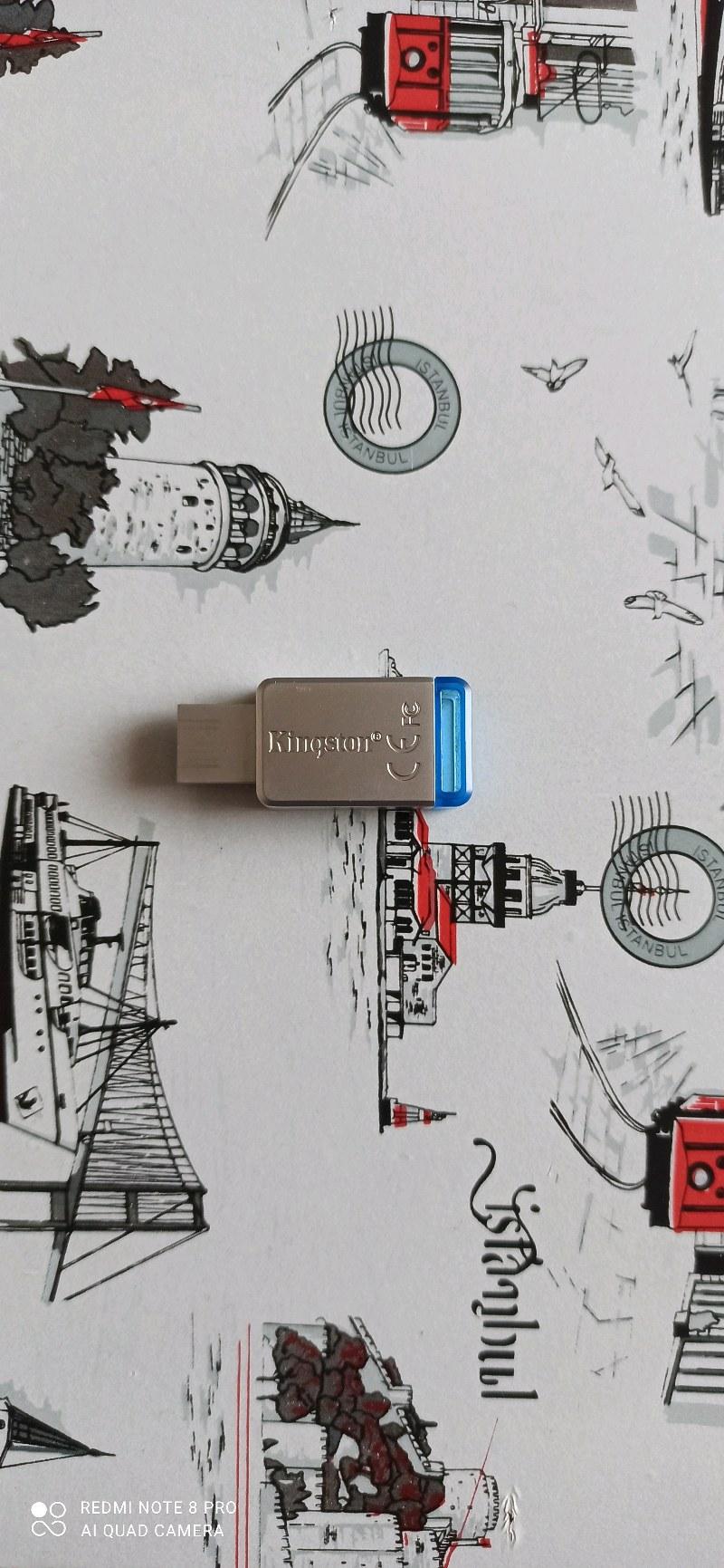 GARANTİLİ 64 GB KİNGSTON 3.0 USB BELLEK