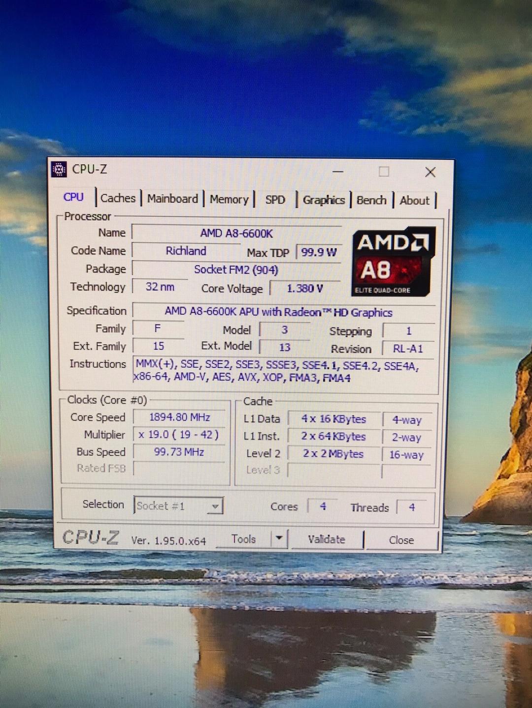 a8 6600k