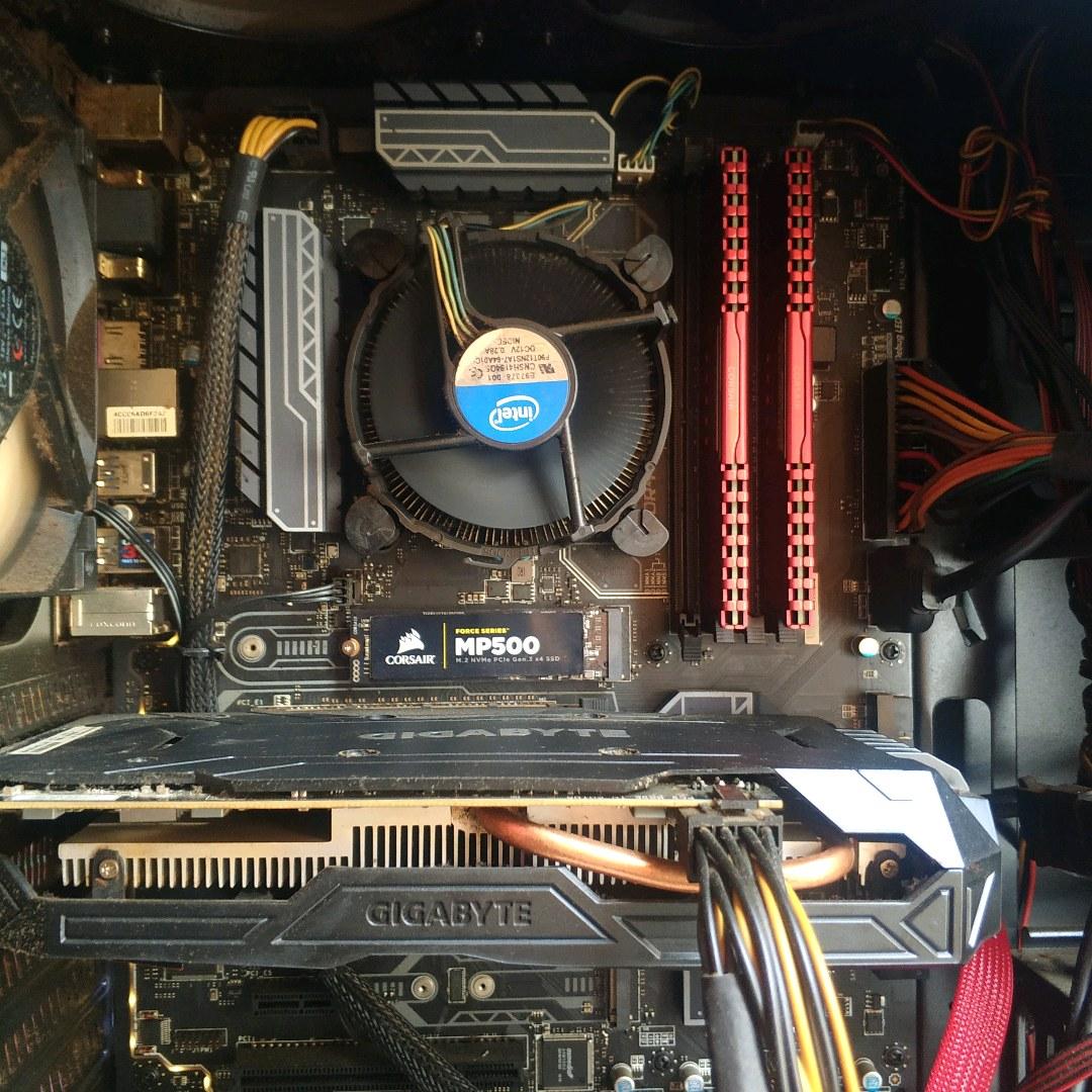 i7-7700 ve MSI z270 PC Mate