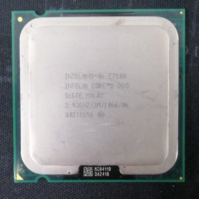 e7500 işlemci