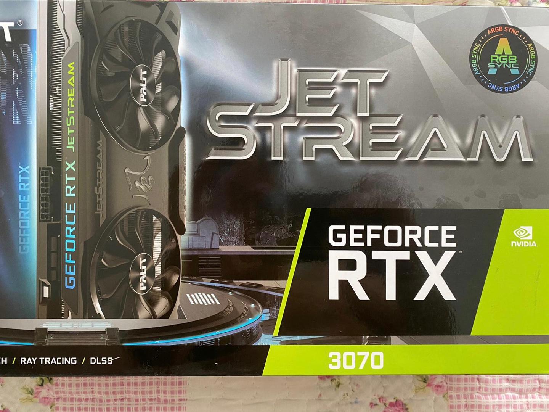 Palit GeForce RTX3070 JetStream OC