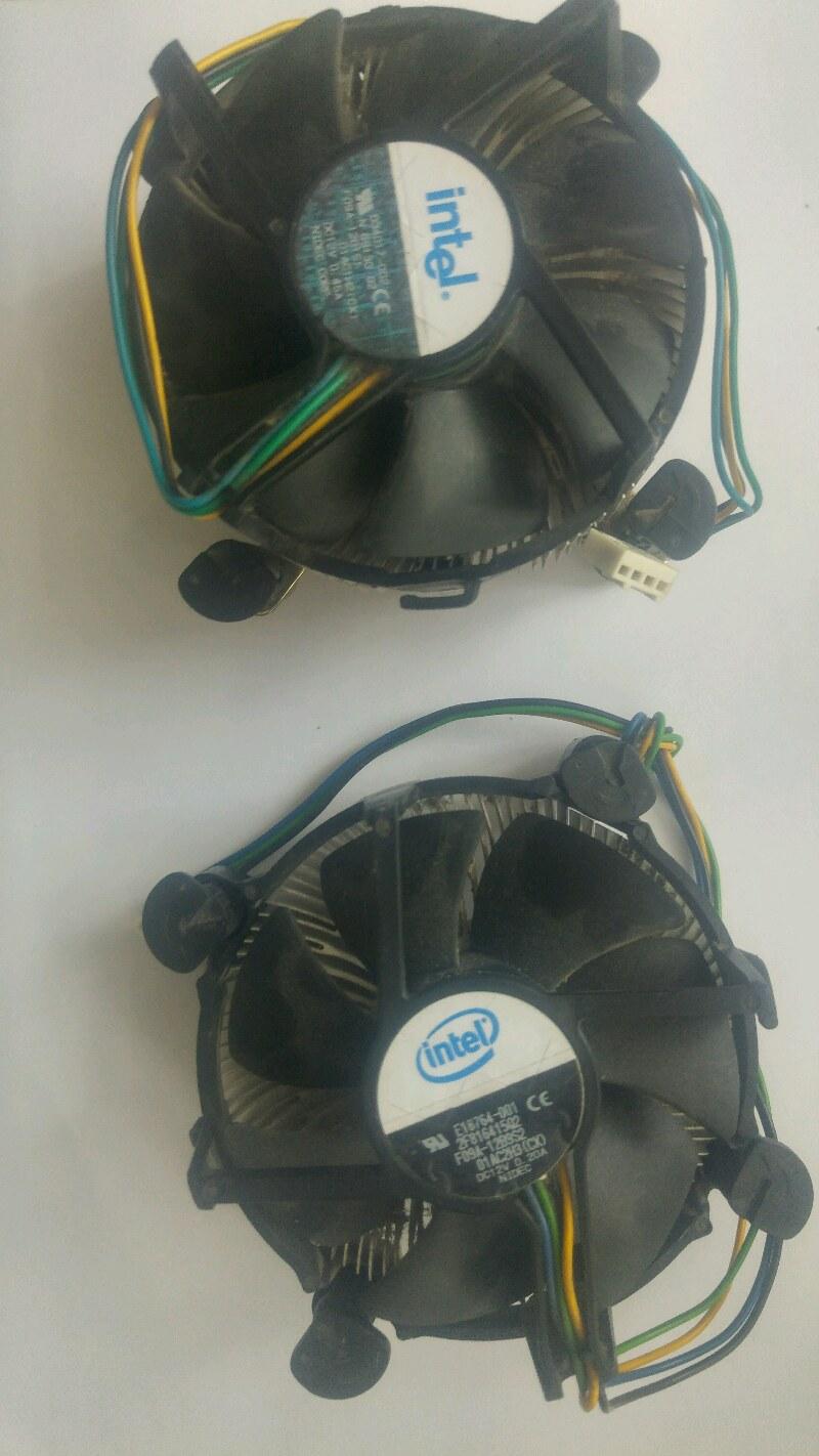 2 ADET İNTEL CPU FAN