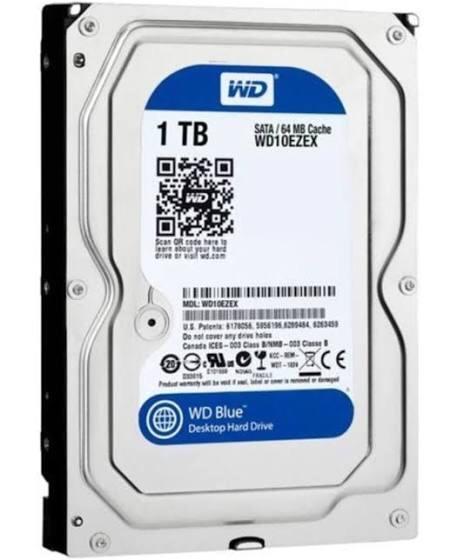 WD blue 1 TB harddisk