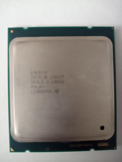 İntel İ7 3820 3.60 Ghz işlemci