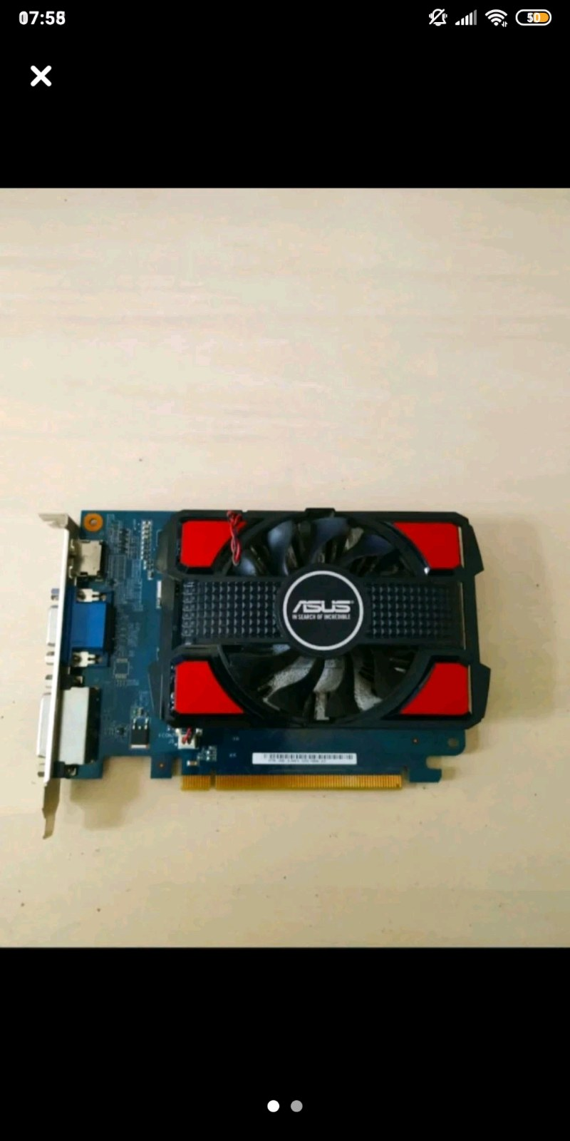 ASUS GT 730 2GB 128BIT NVIDIA EKRAN KARTI