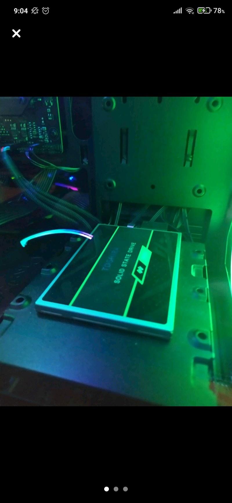 TOSHİBA 480 GB SSD 555/540 KUTULU GARANTİLİ FATURALI TEMİZ