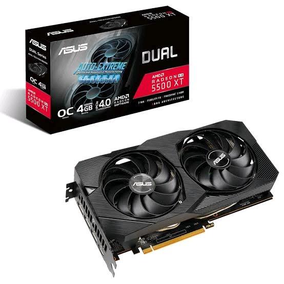 5500 XT Asus 4 GB