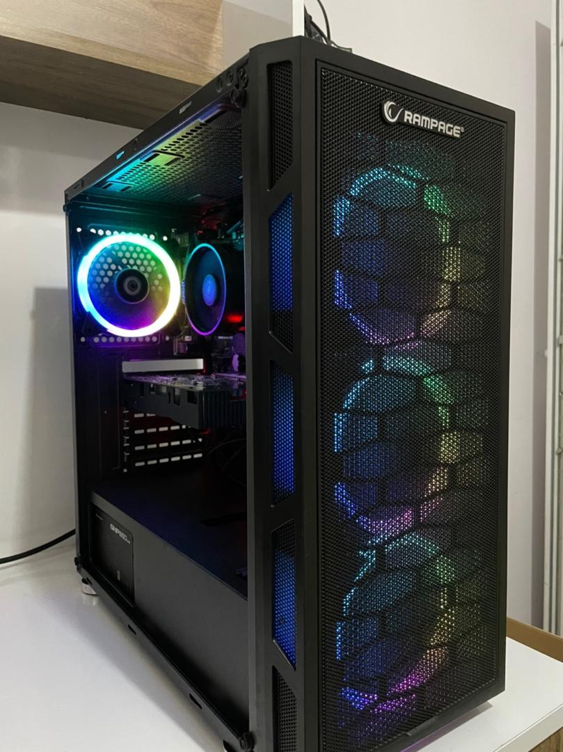 Ryzen 5 1600AF / GTX 1050Ti / 16GB Ram Oyuncu Bilgisayarı