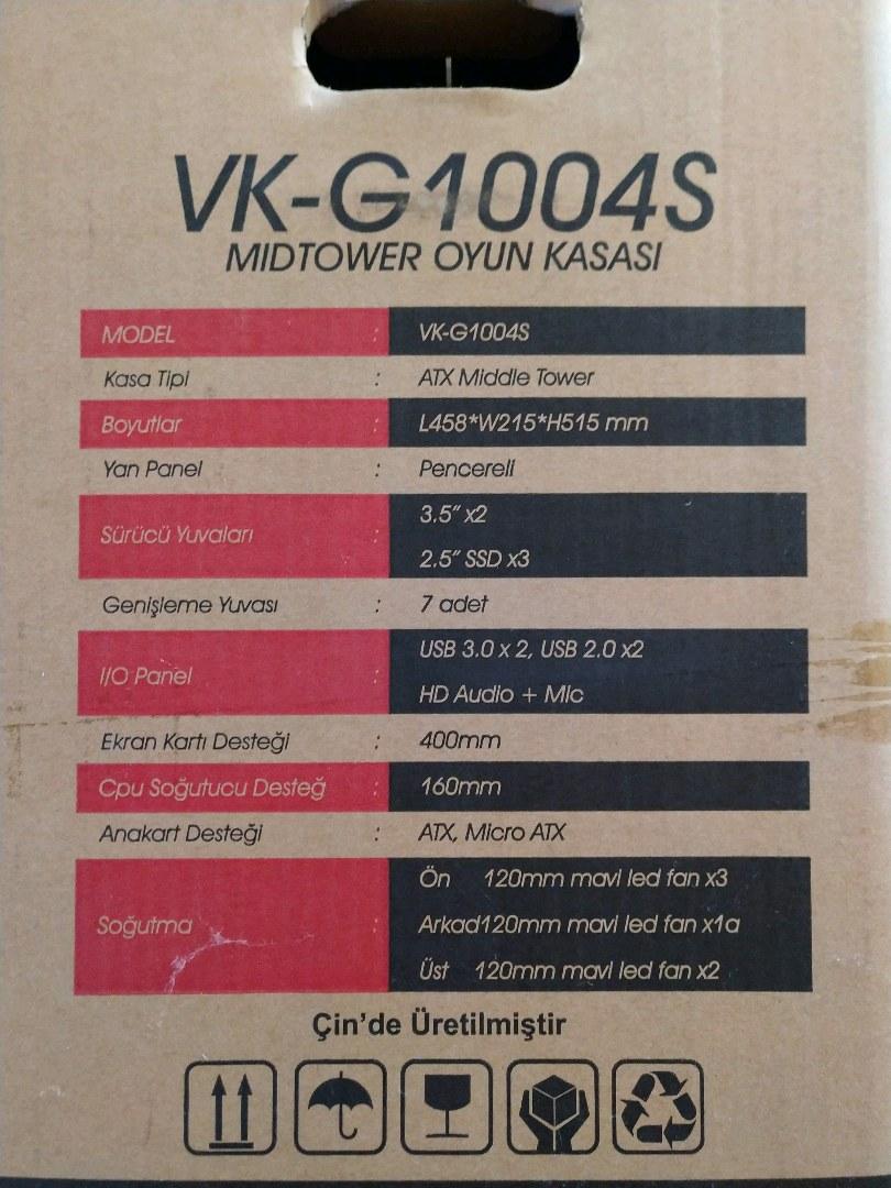 Ryzen 5 3600 Hazır Sistem (EKRAN KARTI YOKTUR)