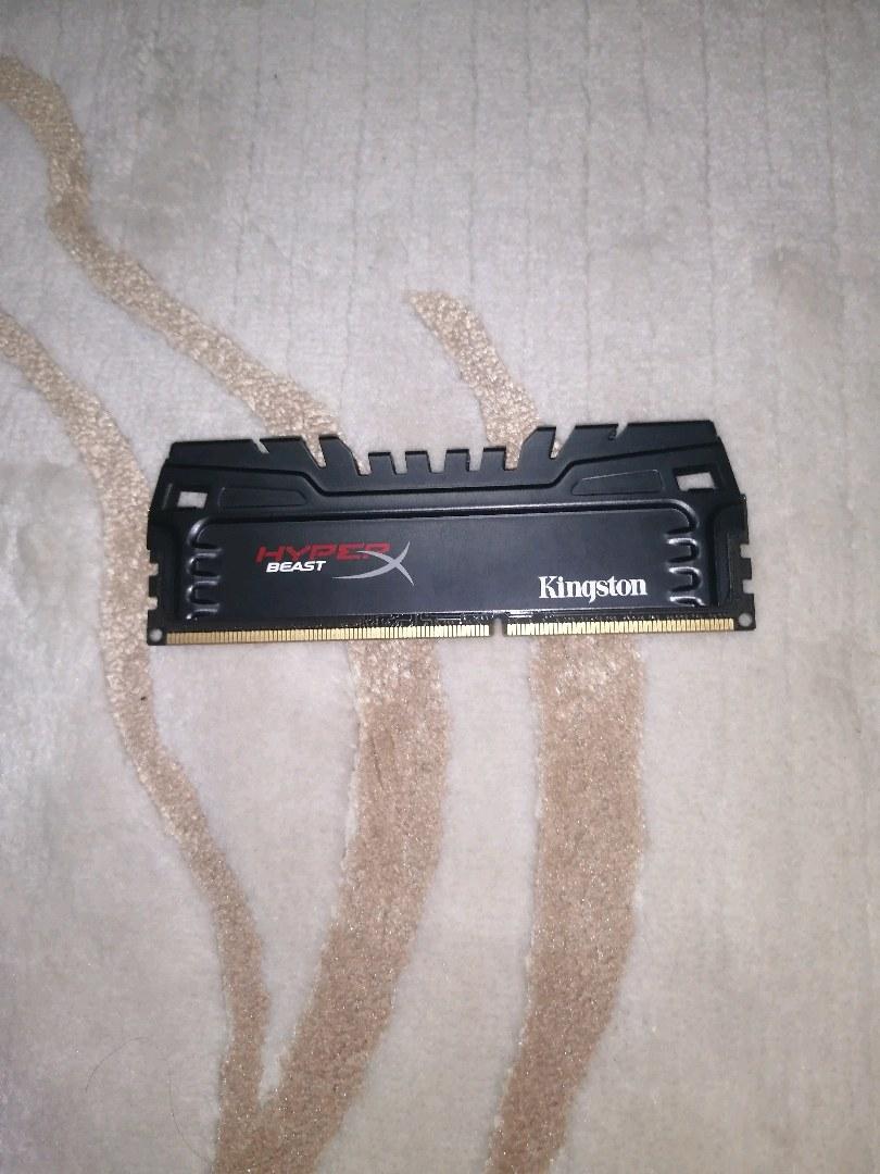 HyperX Beast 4 GB DDR3 1600 MHZ Ram