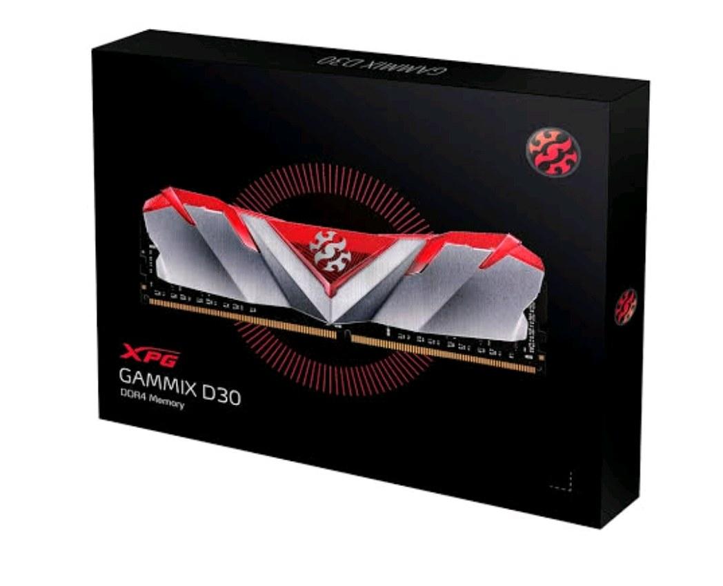 xpg 2x8gb 16 gb gammix d30 kırmızı 3200mhz cl16 ddr4 ram