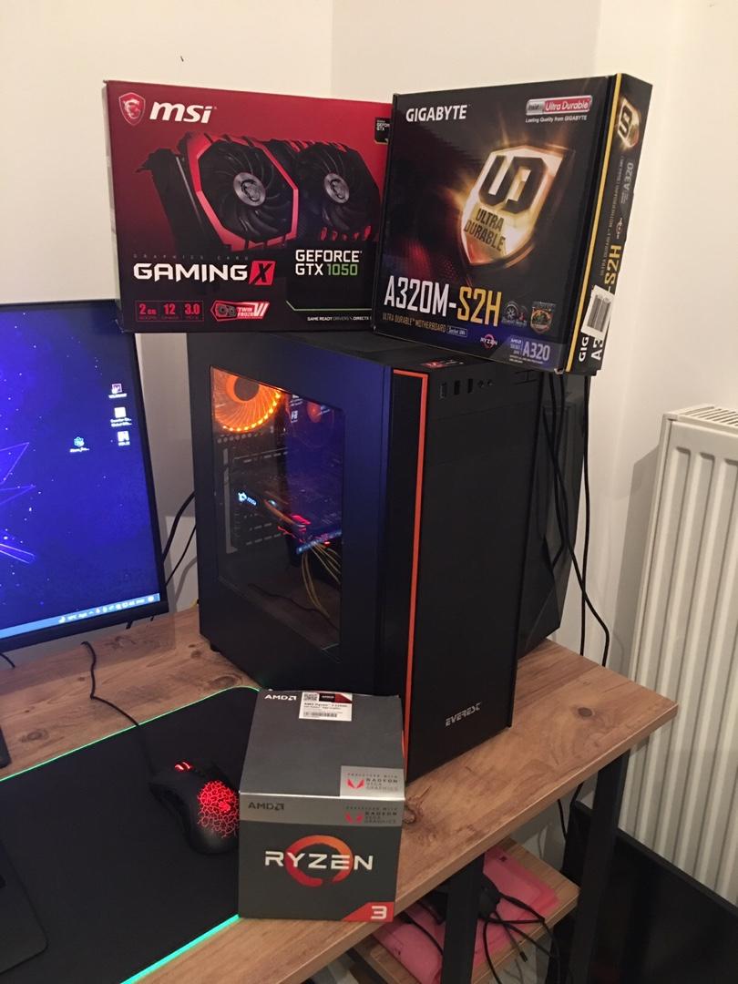 gtx 1050 oyun bilgisayarı