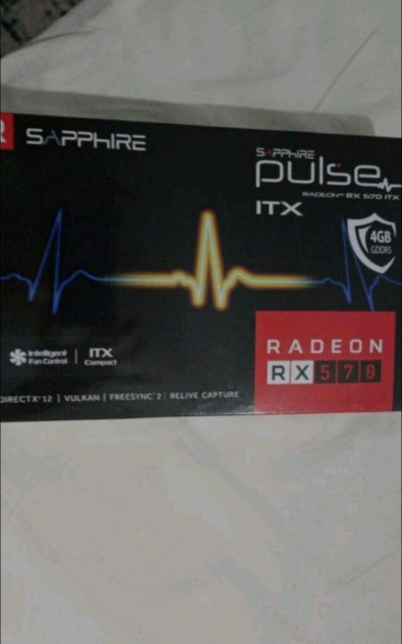 RX 570 4 GB 256 BİT KUTULU GARANTİLİ