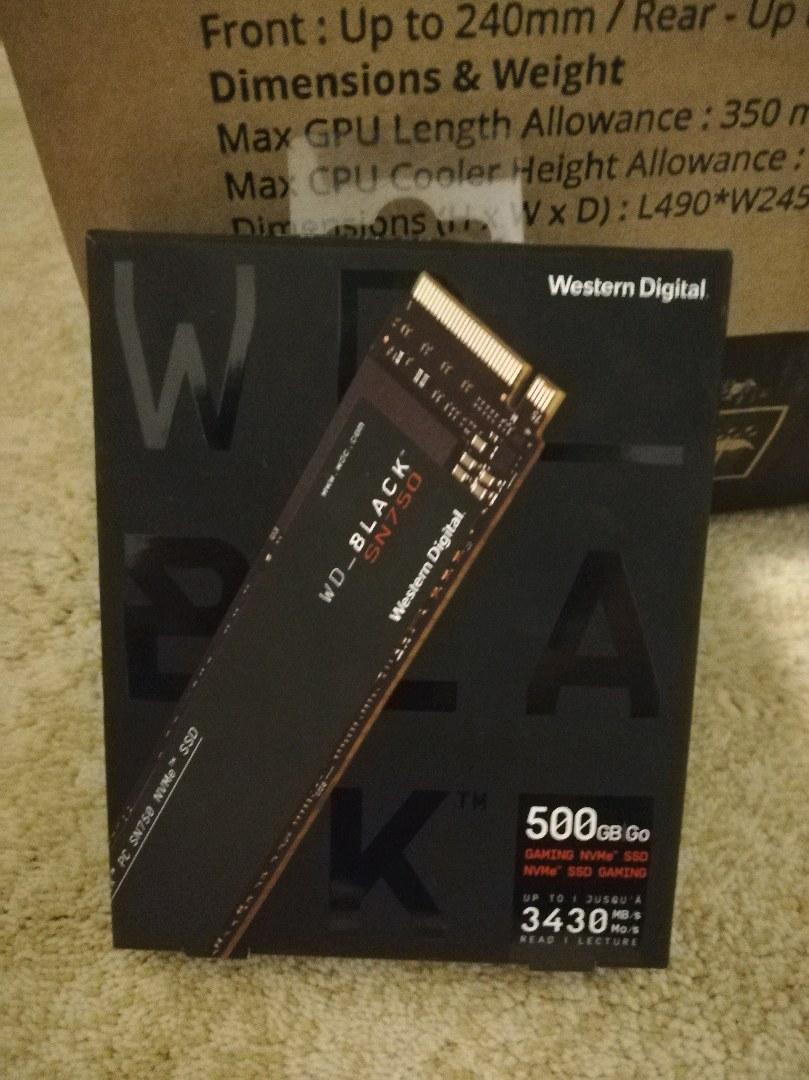 Ssd 500 gb