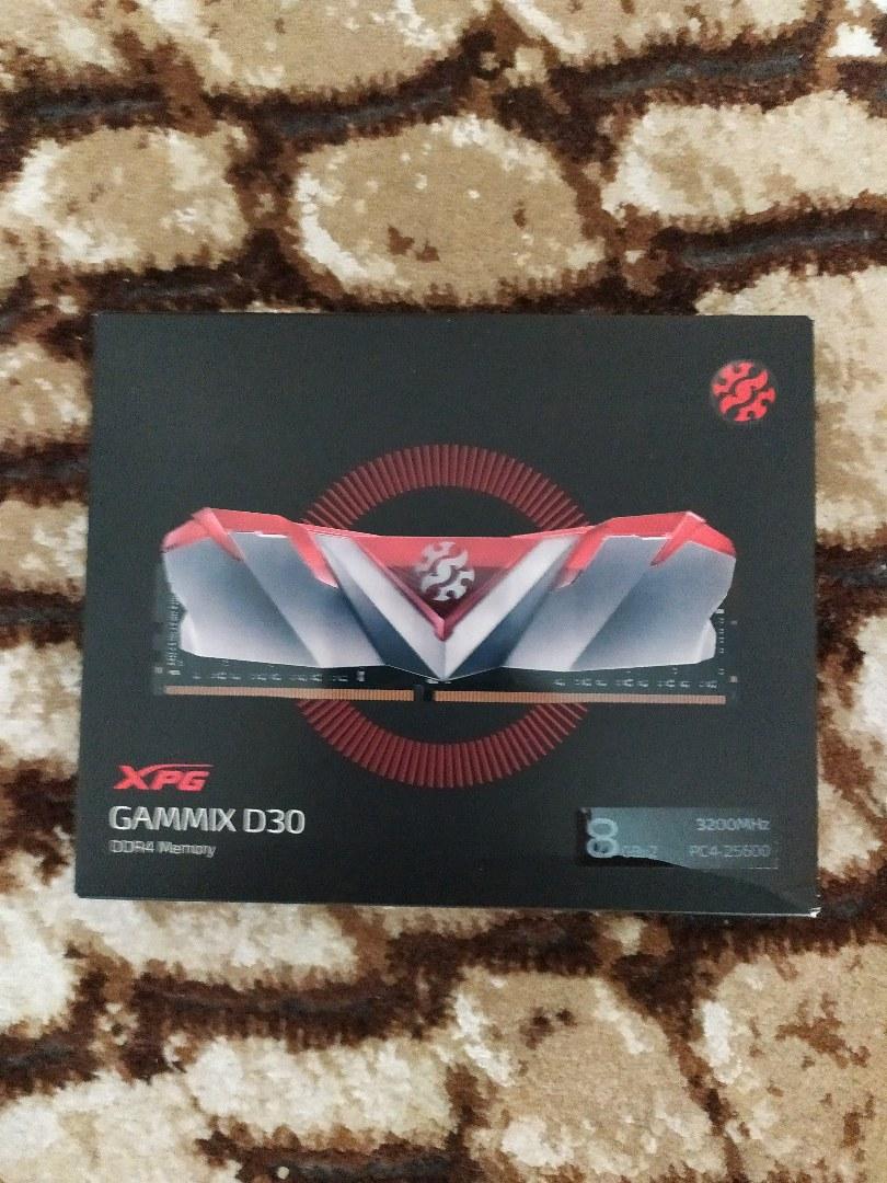 XPG D30 2x8 16gb 3200 mhz ram