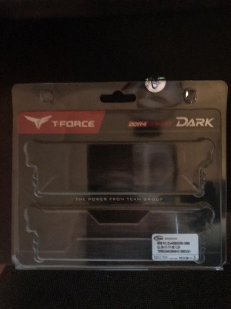 Team DDR4 8 GB(2x4) 2666MHz overclocking Dark t-Force soğutucu bellek