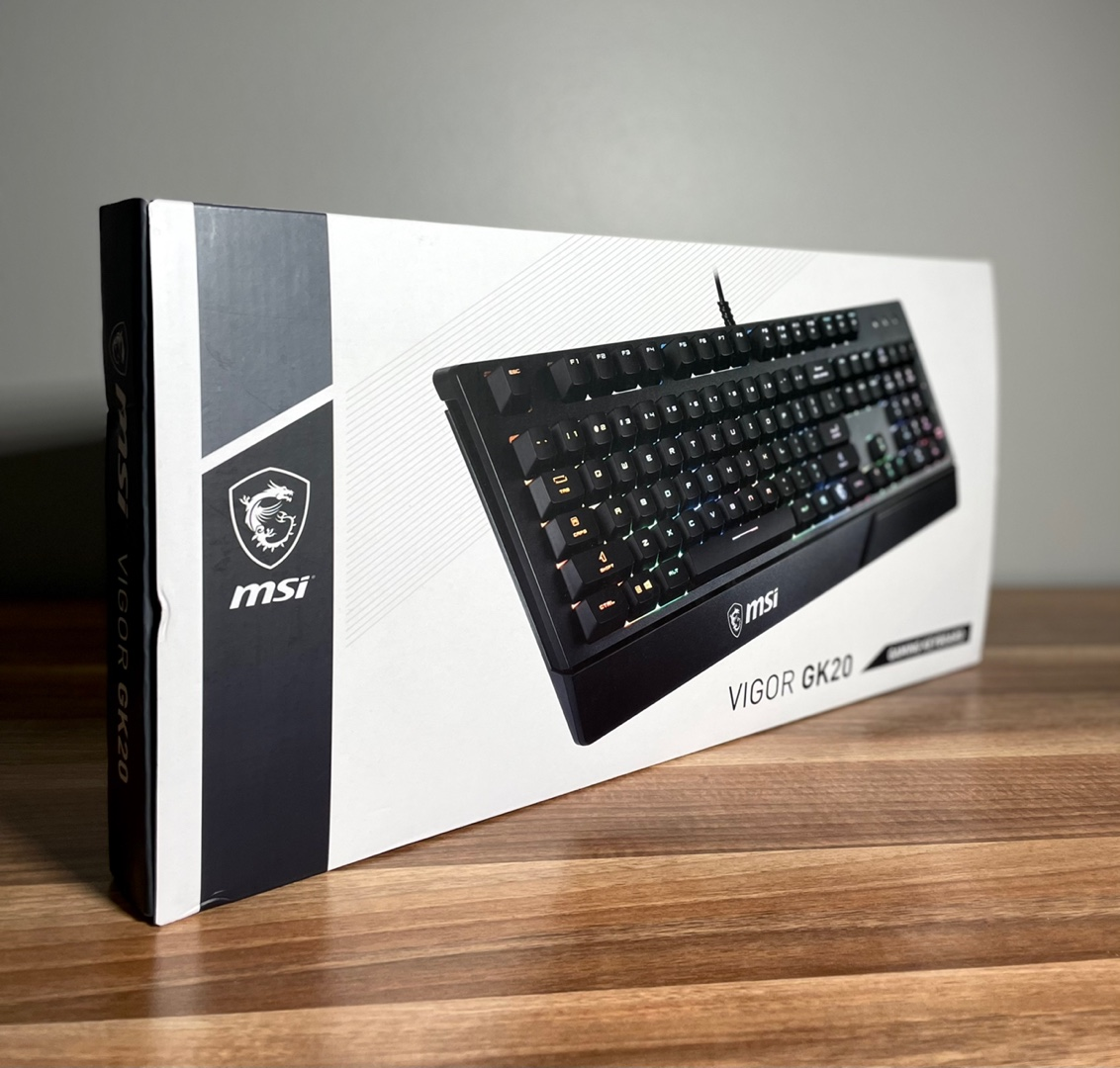 MSİ Vigor GK20 RGB Klavye (Garantili)