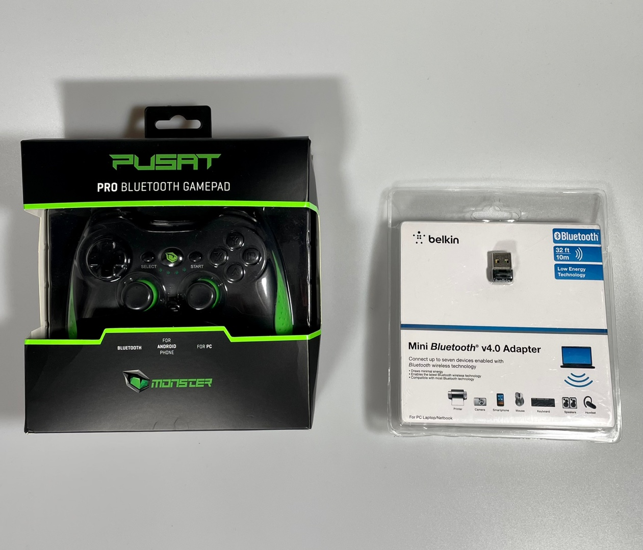 Monster Pusat Pro & Belkin Bluetooth (Garantili)