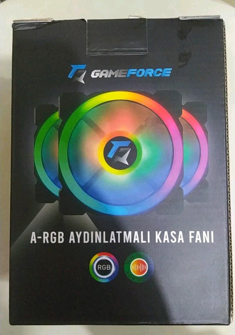 4lü A-RGB Kasa Fanı