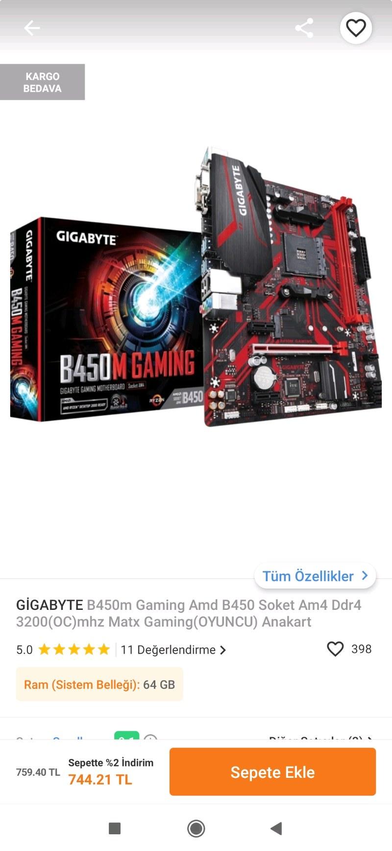 gigabyte gaming b450m